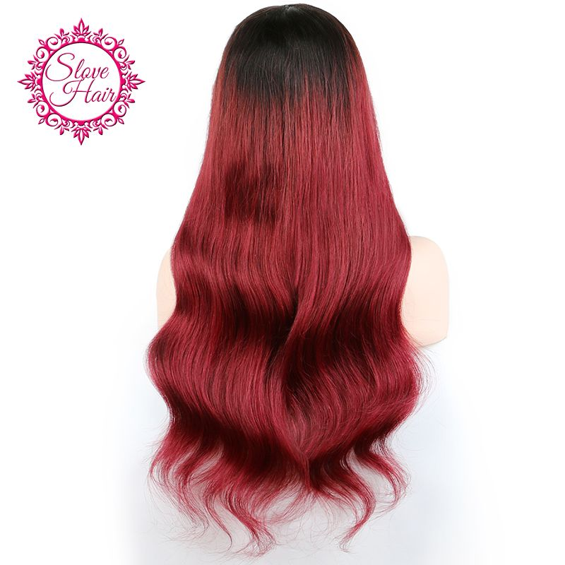 Ombre 1B 27 Color Brazilian Body Wave Lace Front Human