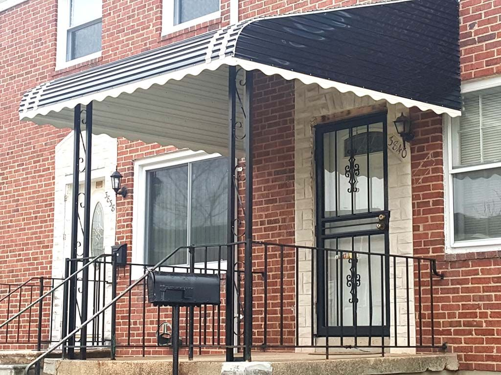 Aluminum Awnings Md Dc Va Pa A Hoffman Awning Co