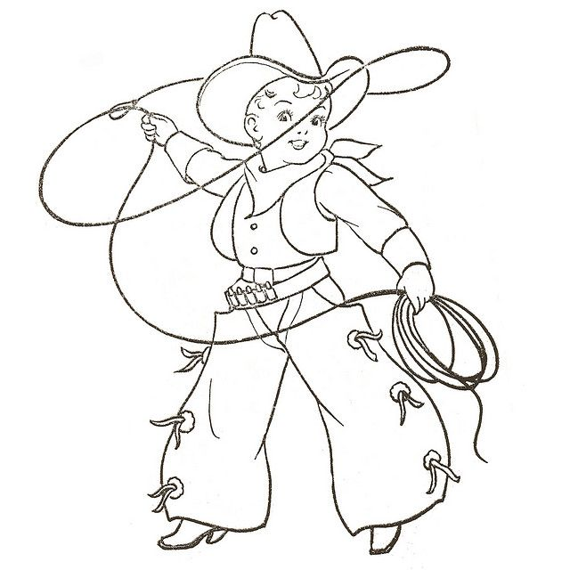 Cowboy Embroidery Patterns Vintage Embroidery Cowboy Quilt
