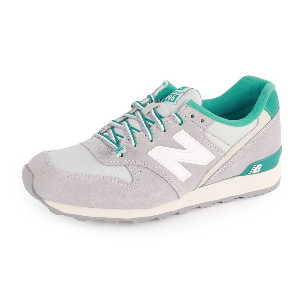 new balance 996 runner trainers in mint pastel