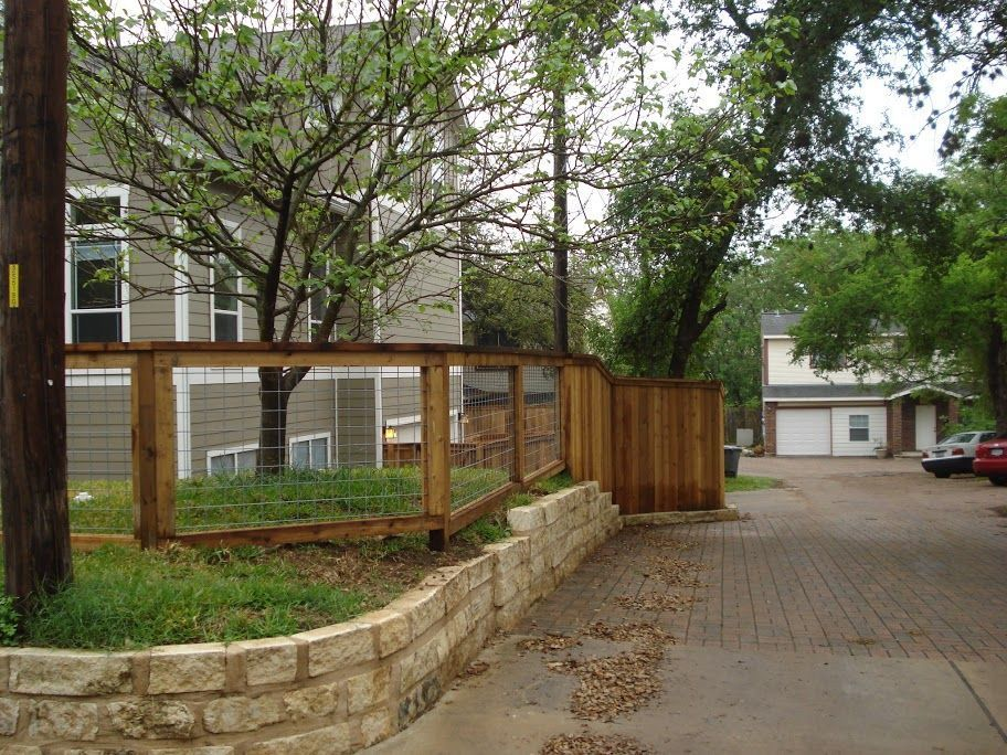 36 Simple Front Yard Fence with Wood Material for Small ...