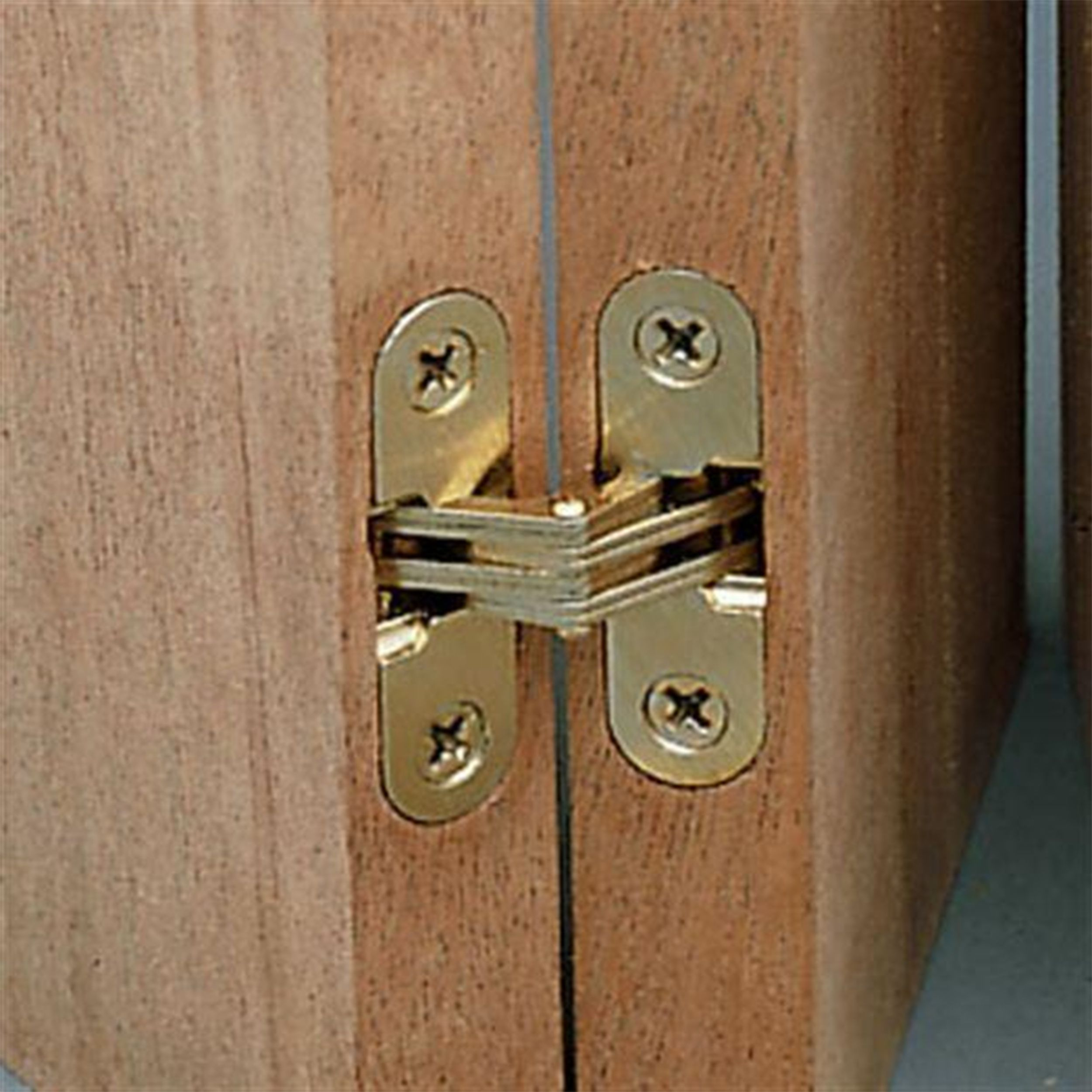 Soss Invisible Hinge 1 2 X 2 3 8 In 2020 Invisible Hinges Invisible Doors Wood Hinges