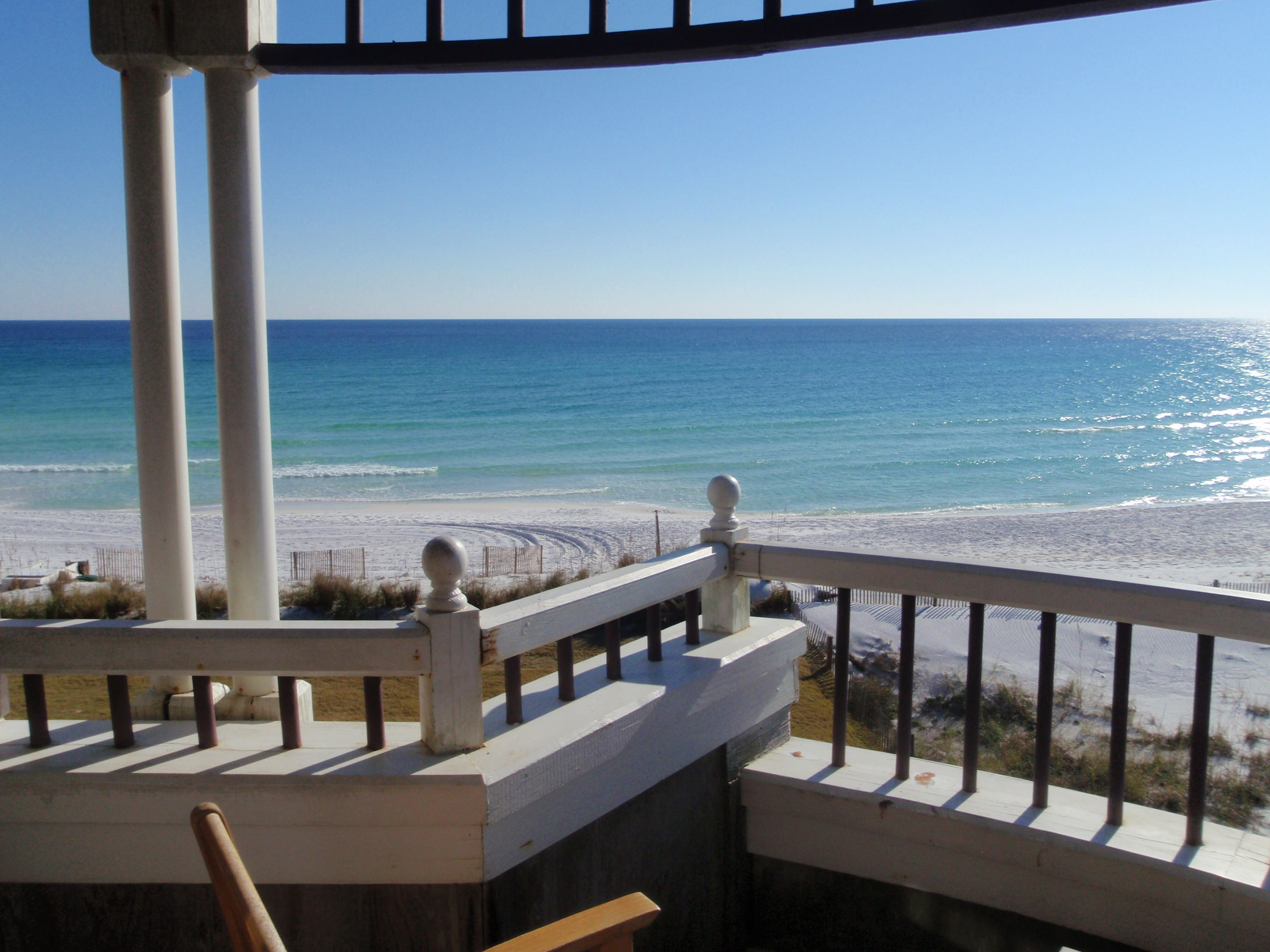 View from the Corner Suite (rm 203) of the Henderson Park Inn, Destin, Florida