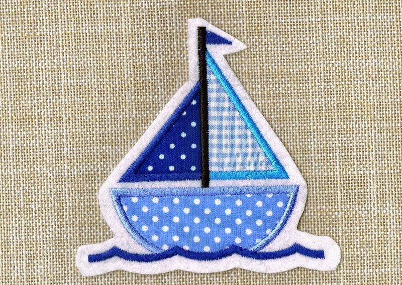 Segelboot applikation  Boot Segelschiff