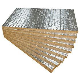 Panel De Aislamiento Acústico Térmico L R Firerock C Alumin 100x60x3 Cm Aislamiento Diseño De Sauna Paneles Acústicos
