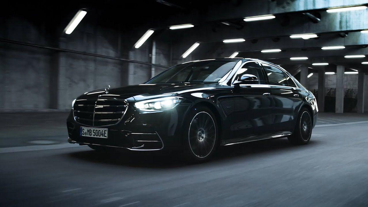New S Class Digital Light Mercedes Benz Mercedes Benz Benz Night Driving