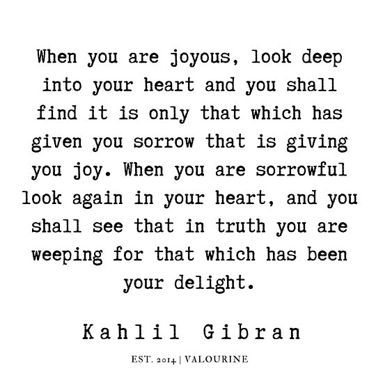 19 | Kahlil Gibran Quotes | 190701 Poster by QuotesGalore
