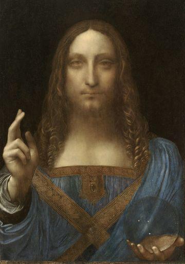"""Cristo Salvator Mundi"" di Leonardo da Vinci.  Fotografo: VCG Wilson / Corbis via Getty Images"