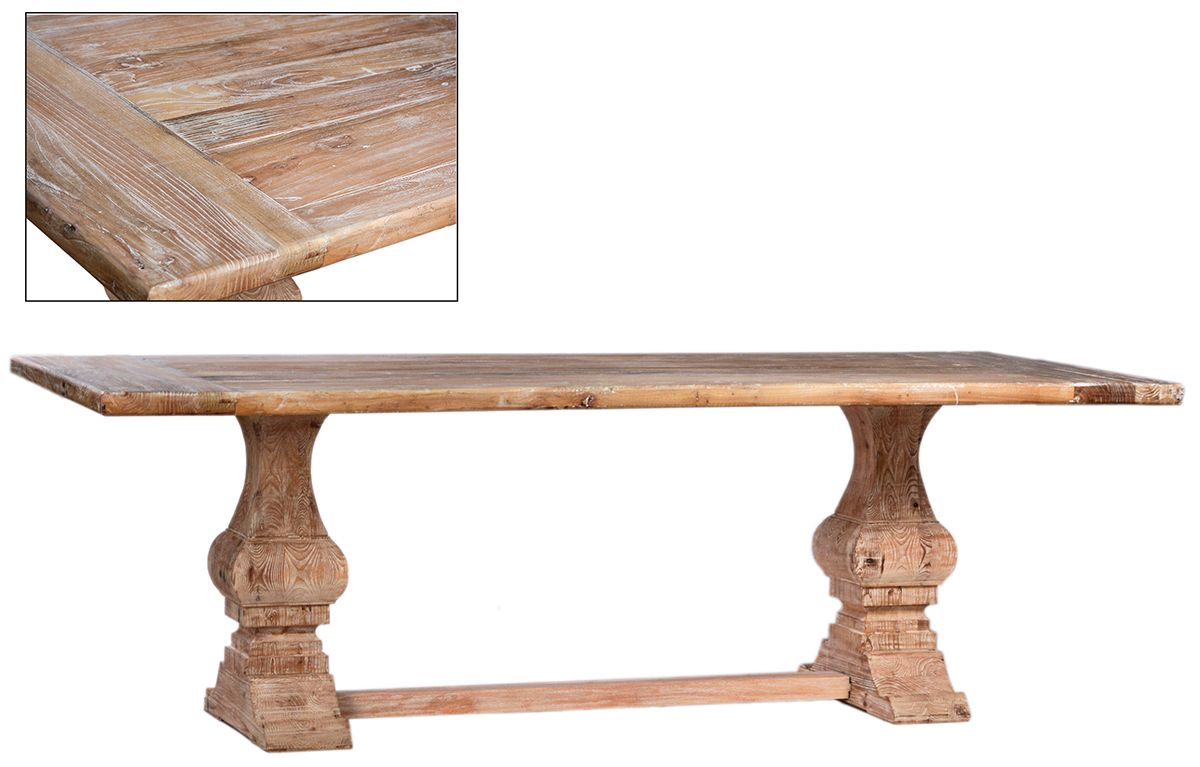 Montecito dov1000 dining table by dovetail furniture southern style fine furniture