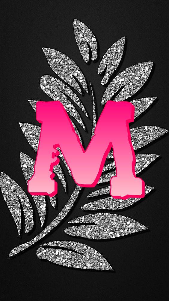M By Gizzzi Flower Phone Wallpaper Alphabet Wallpaper Love Wallpapers Romantic