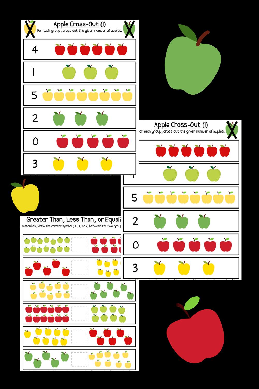 Apple Math Practice Printable Worksheets Counting Comparing Adding In 2021 Apple Math Math Practices Math [ 1500 x 1000 Pixel ]