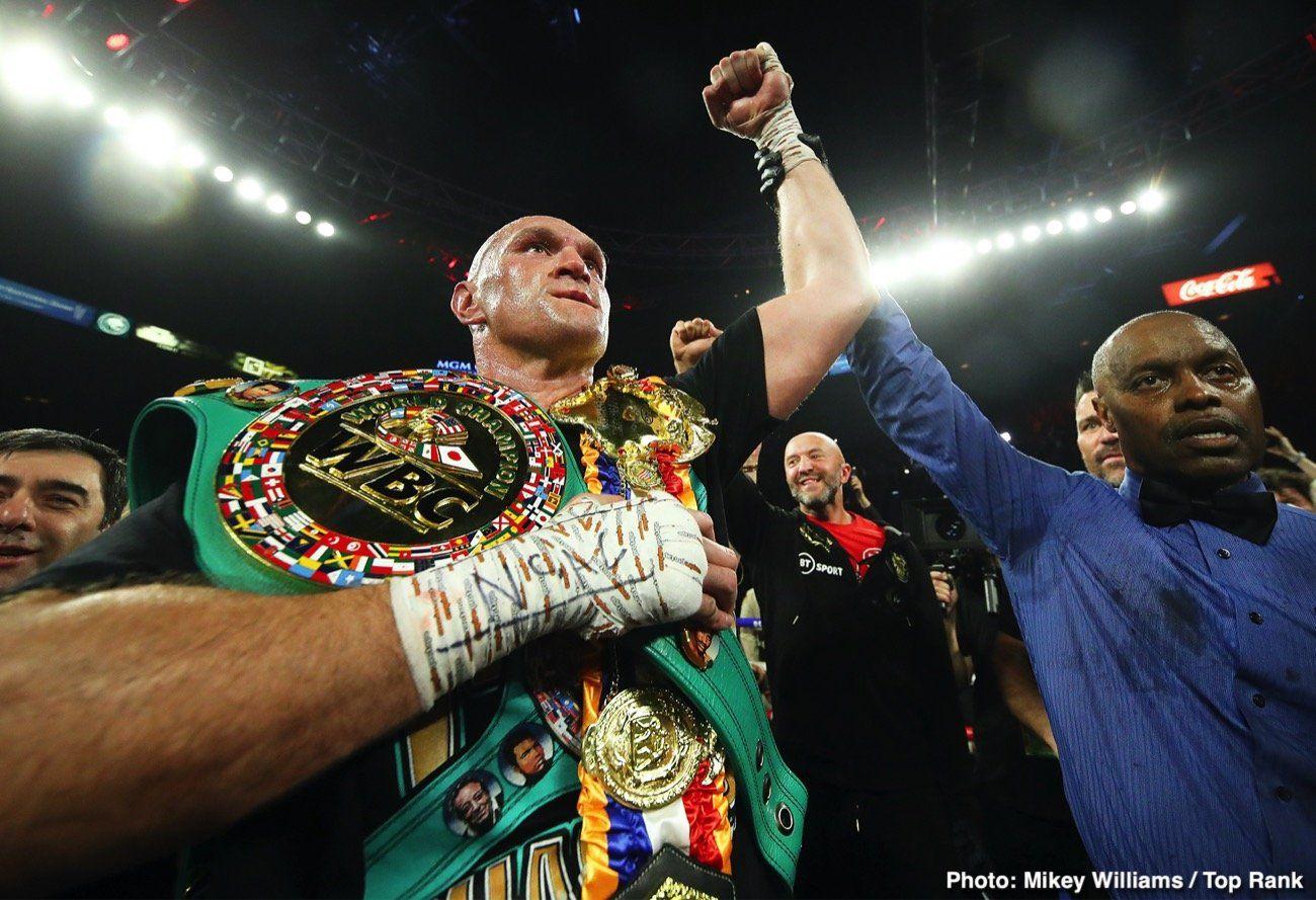 Tyson Fury Must Beat Anthony Joshua To Prove Hes 1 David Haye Mma Ufc Boxing Muaythai Jiujitsu Kickboxin Tyson Fury Boxing News Mgm Grand Garden Arena