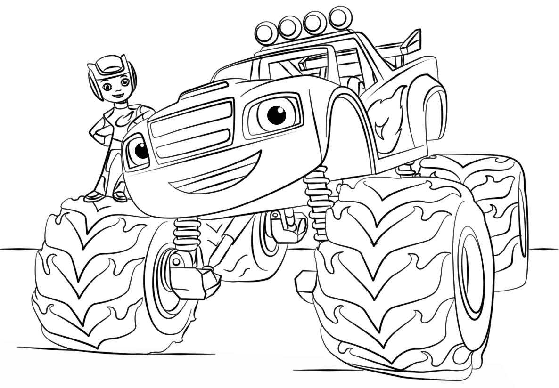Guarda Il Video Scarica Il Disegno Nel Link In Descrizione E Divertiti A Colorare Con Noi Iscriviti Al Ca Libri Da Colorare Disegni Da Colorare Monster Truck