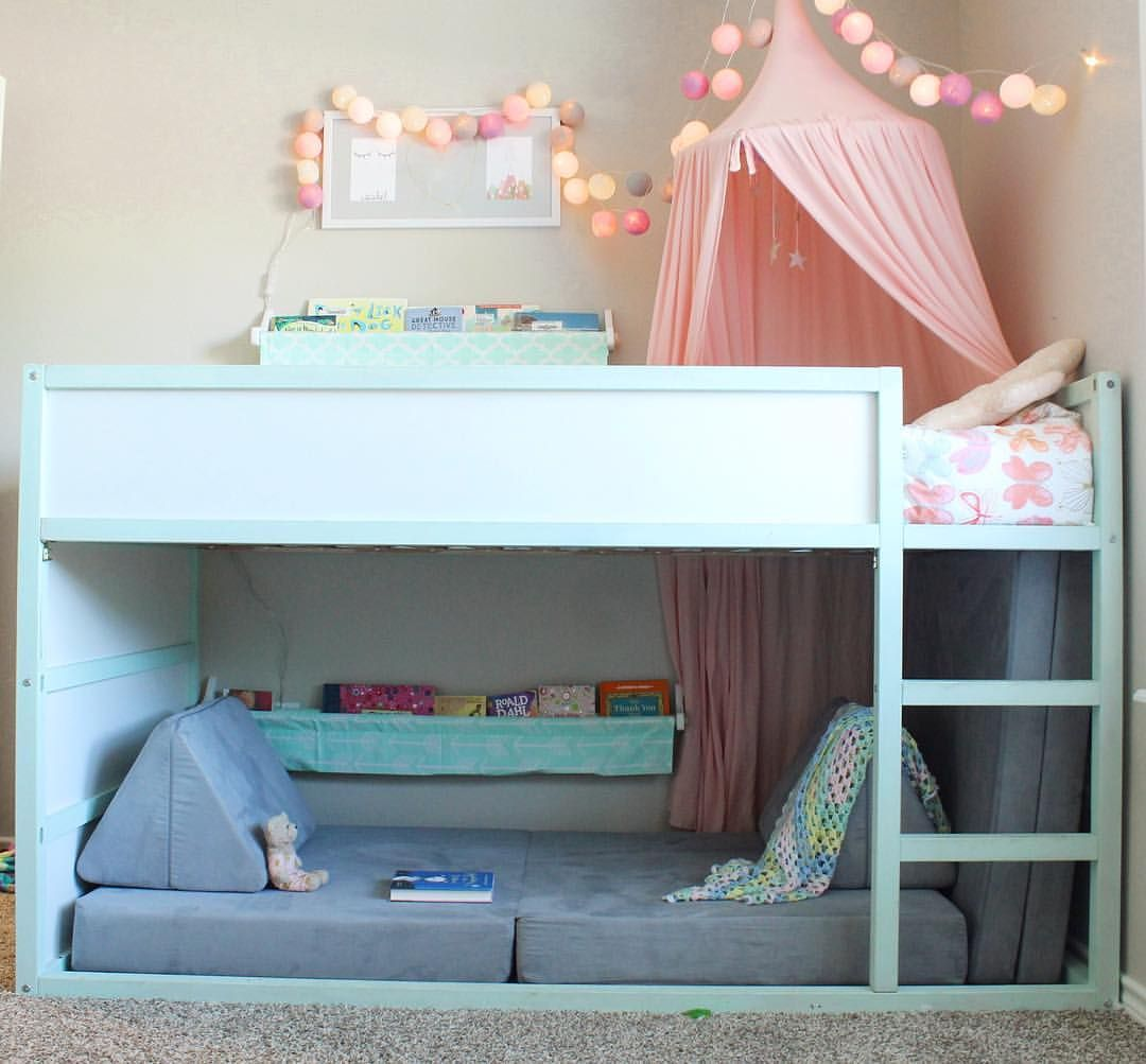 Put Your Nugget Under The Ikea Kura Bed For The Perfect Ikea