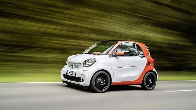 Mercedes new version of worlds smallest car Smart ForTwo  Cars