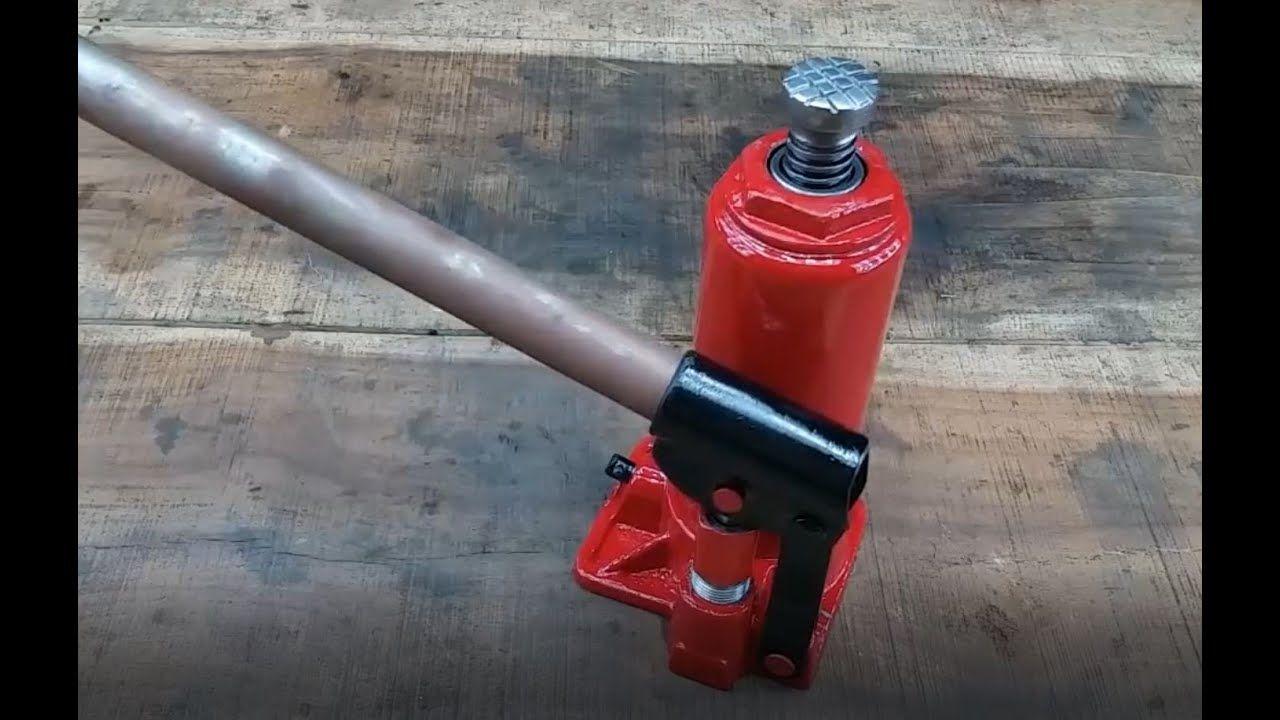 Restored Hydraulic Jack in 2020 Restoration, Repair