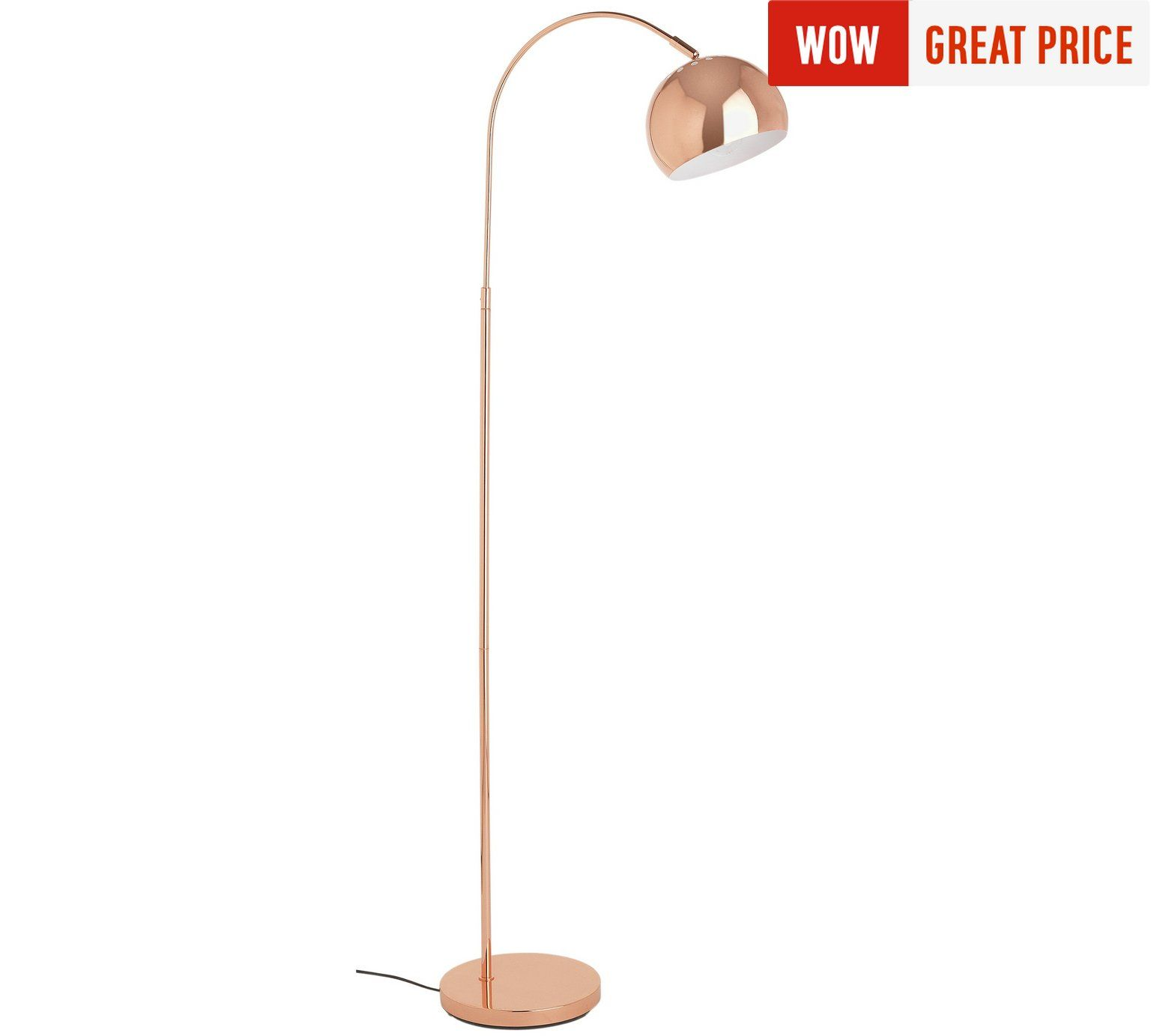 Buy Home Curva Floor Lamp Copper At Argos Co Uk Visit Argos Co Uk To Shop Online For Floor Lamps Lighting Copper Floor Lamp Floor Lamp Indoor Floor Lamps