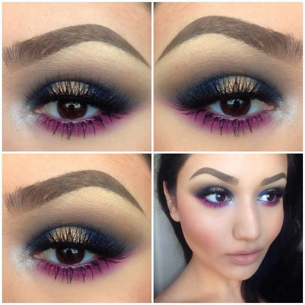 Elisa from NYX Cosmetics | Look completed by Samantha's partner in crime, Angela....