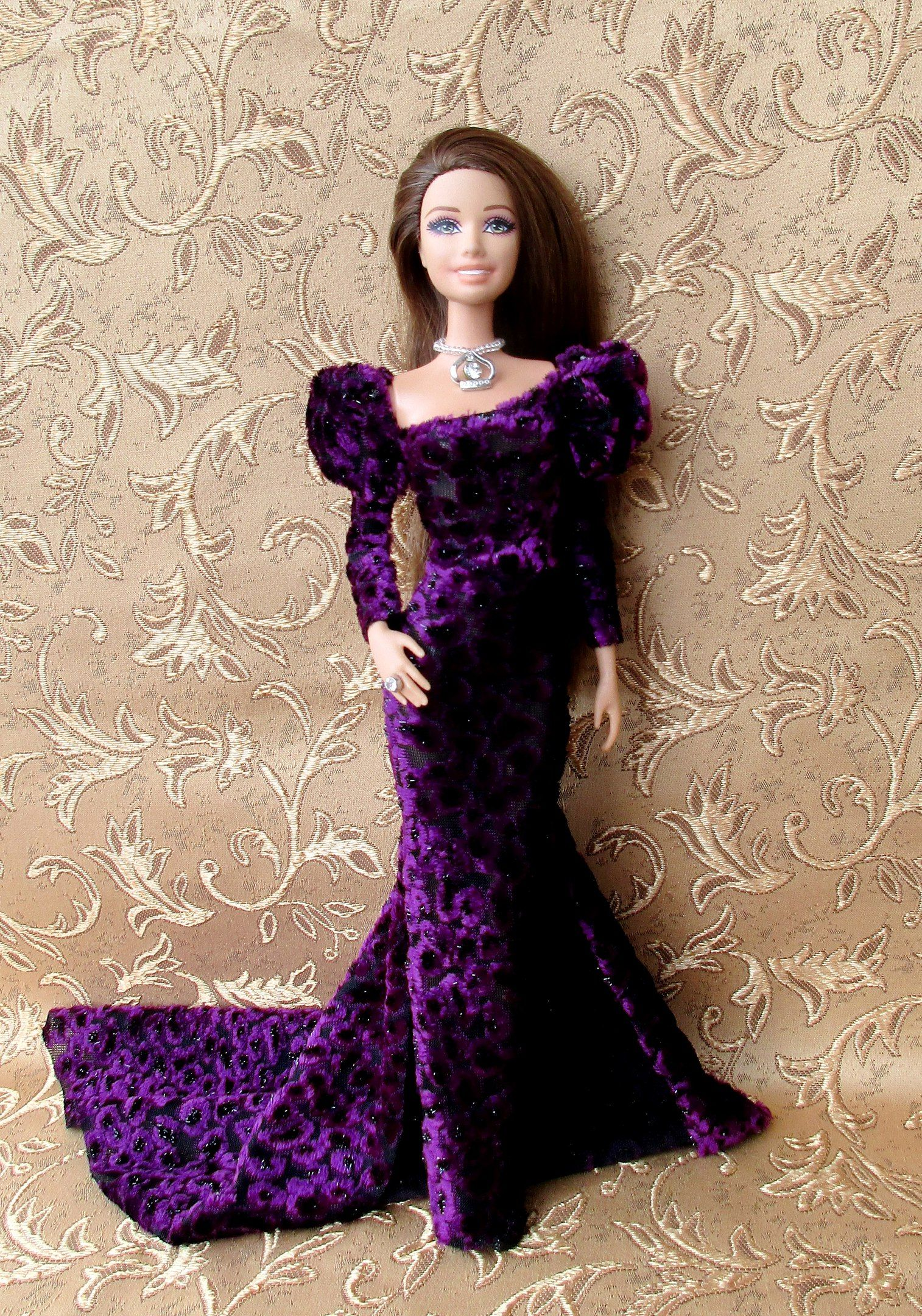 Pin by redzmila design on dolls gowns and party dresses