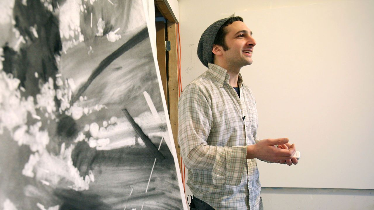 after graduating from cia ben grasso pursued a master s degree in after graduating from cia ben grasso pursued a master s degree in painting at hunter college