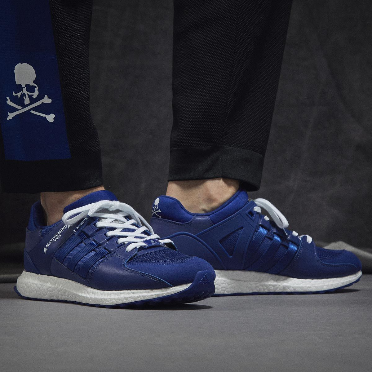 Adidas x Mastermind World EQT Support Ultra Mystery Ink