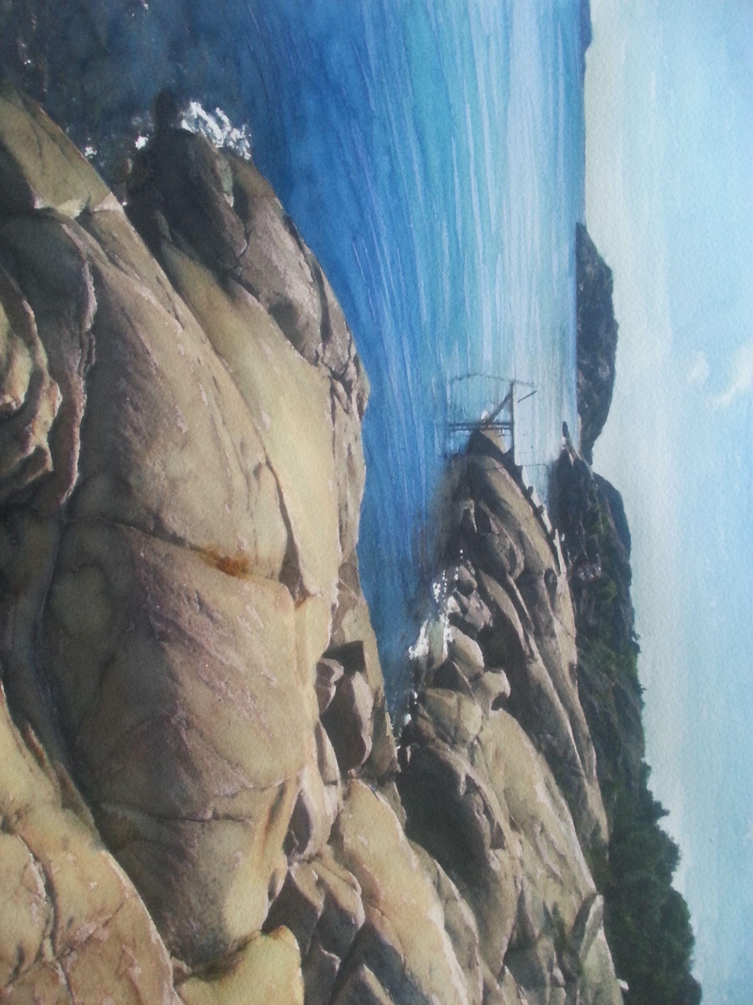Solvarma klippor