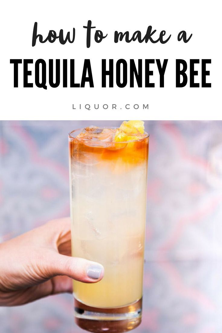 Tequila Honey Bee #tequiladrinks