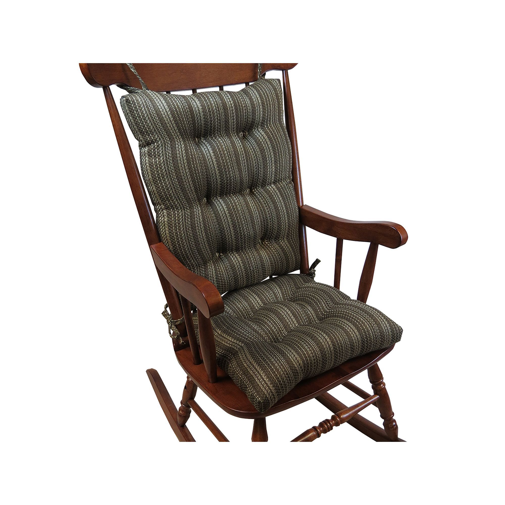 The Gripper Stripe Jumbo Rocking Chair Pad 2 Pk Rocking Chair  # Muebles Dutailier