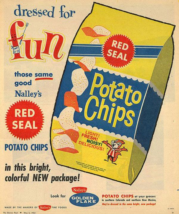 Red Seal Potato Chips - Advertisement