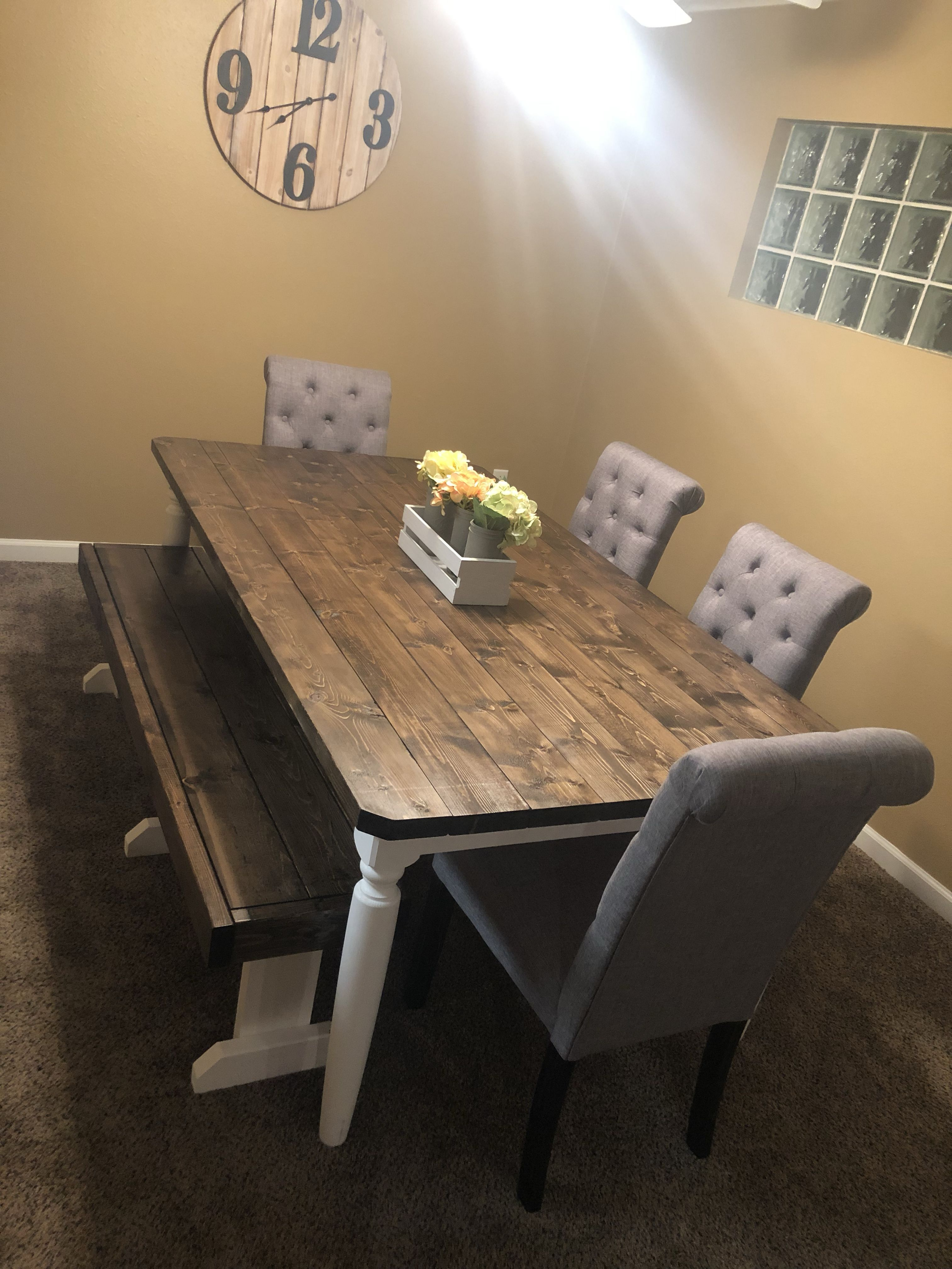 Home Reveal Lakeview Part Ii Scout Nimble Side Chairs Dining Farmhouse Dining Room Table Dining Chairs