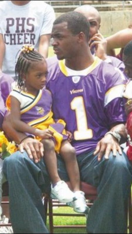 Adrian Peterson And Kids