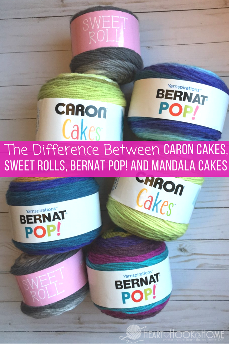 The Difference in the FOUR Major Yarn Cake Brands   Häckeln, Wolle ...
