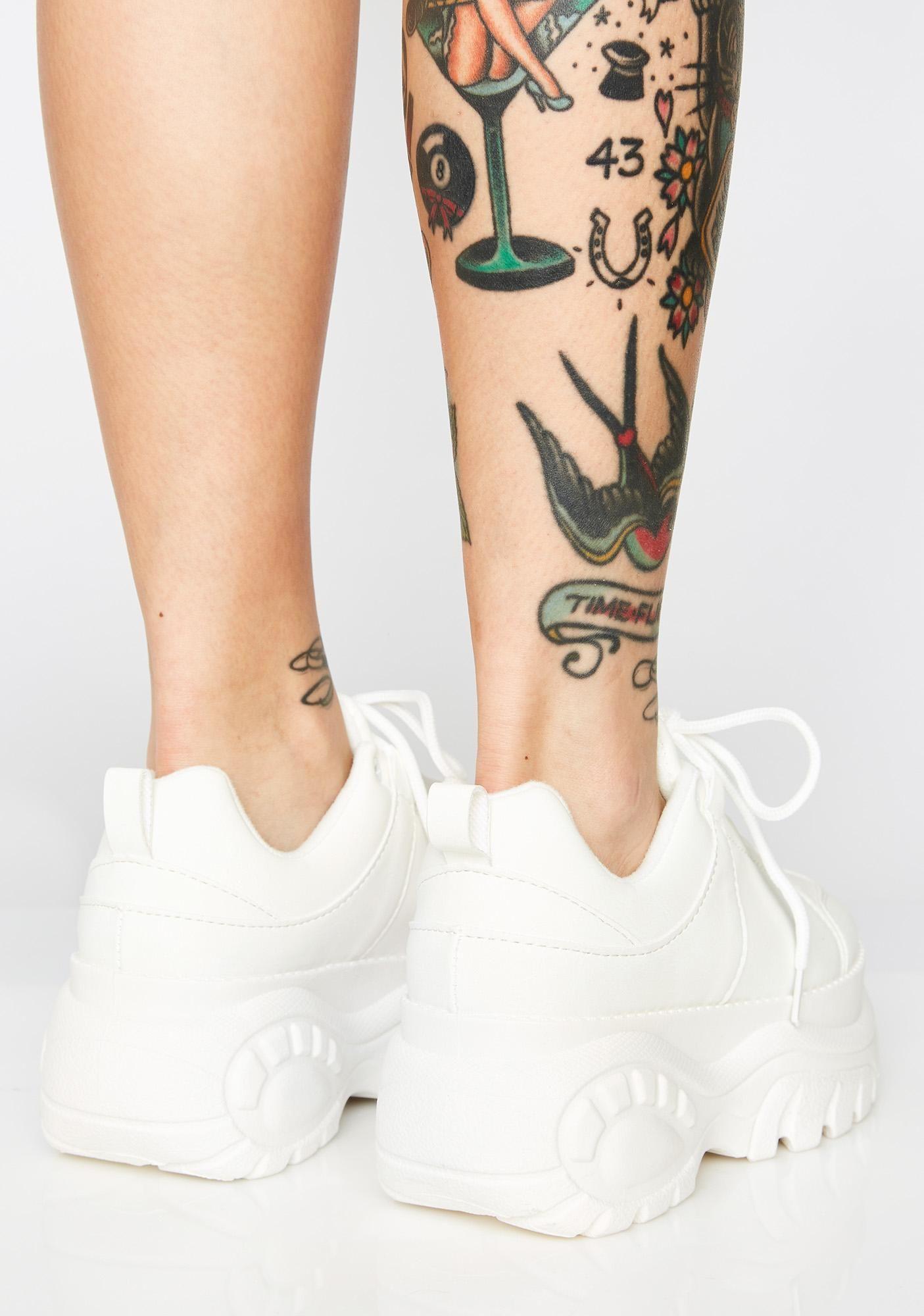 Platform sneakers, Creeper boots