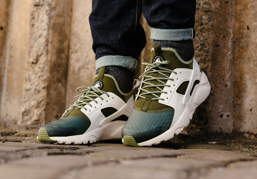 Chaussure Nike Air Huarache Ultra Run Se Palm Green Homme 2