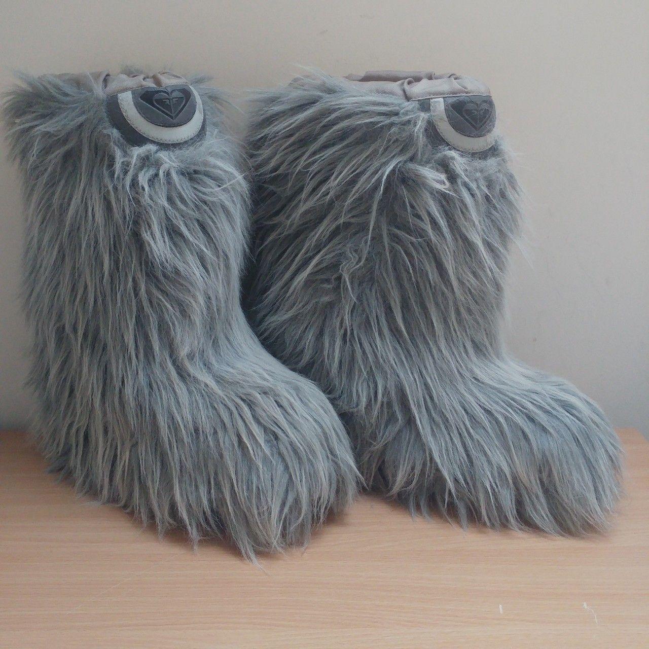 Faux fur, Faux fur boots, Barbie shoes