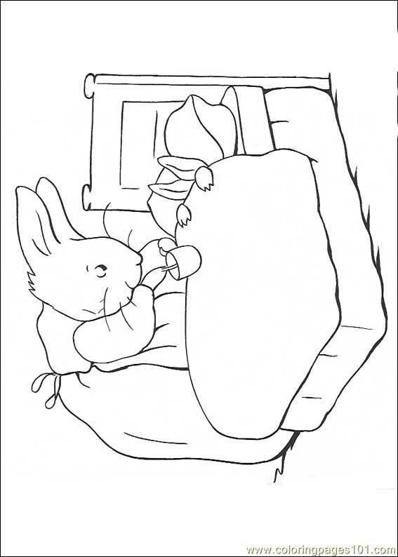 Peter Rabbit12 Coloring Page Free Printable Coloring Pages Peter Rabbit And Friends Coloring Books Peter Rabbit