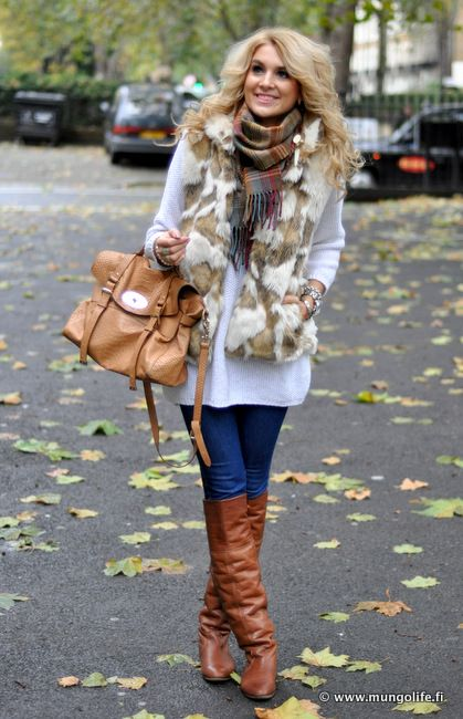 Love this vest.. ready for fall