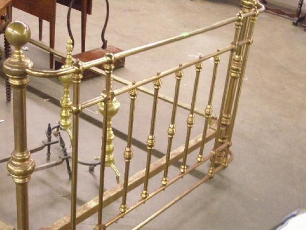 brass beds. antique full size victorian brass bed. . antiques