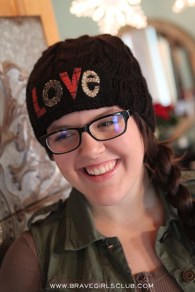 cb5251ca83783 Brave Girls Club - 1 thrifted sweater - 23 projects! - LOVE Hat ...