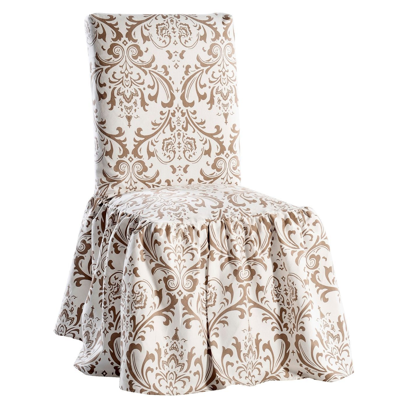 Damask Dining Chair Slipcover Target Slipcovers for