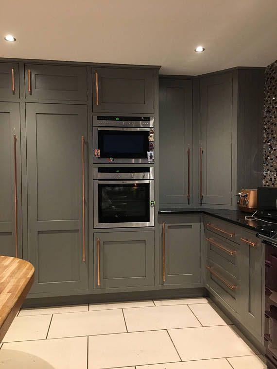 Copper Kitchen Door Handles Kitchen Door Copper Pull Handle