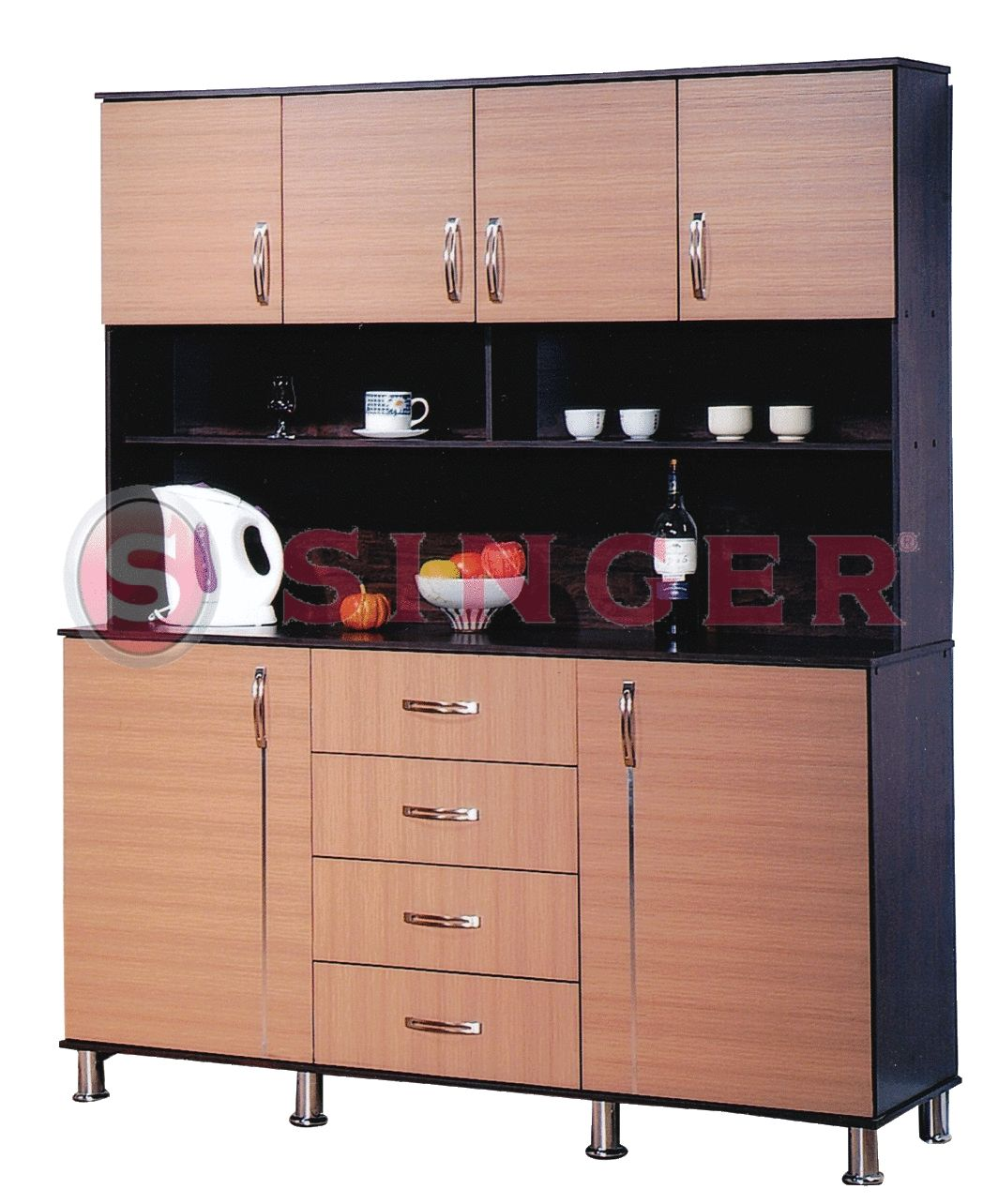 Cute Portable Kitchen Cabinets for Small Apartments ...