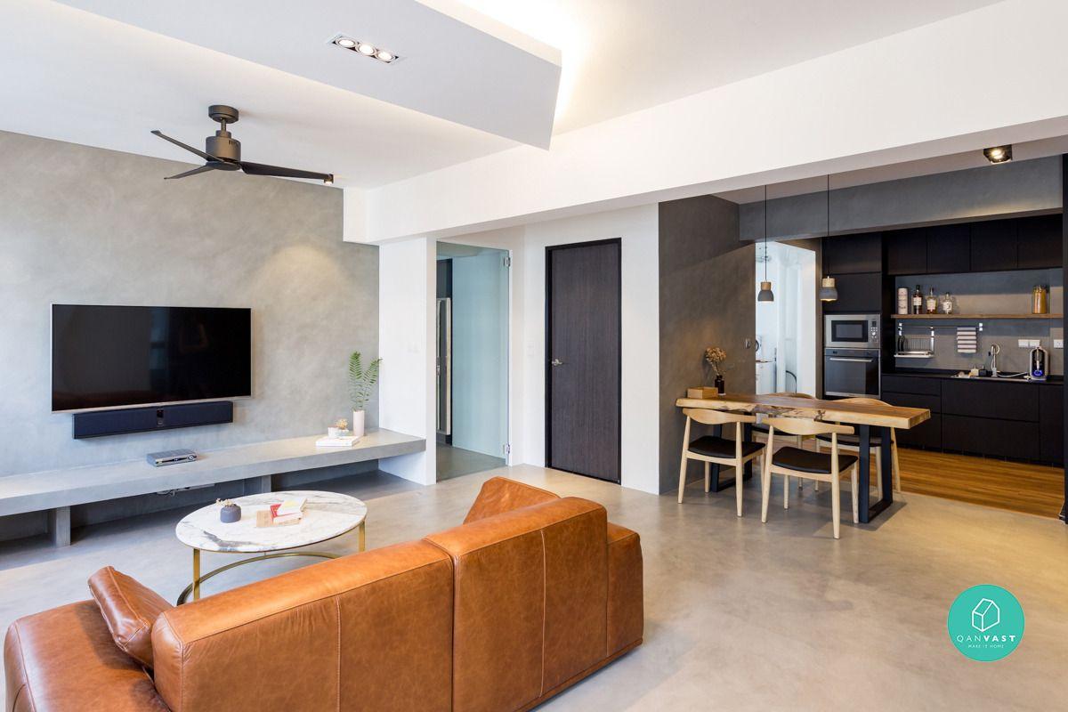 6 Brilliant 4 Room Hdb Ideas For Your New Home Interior Design Singapore Interior Design Elegant Living Room