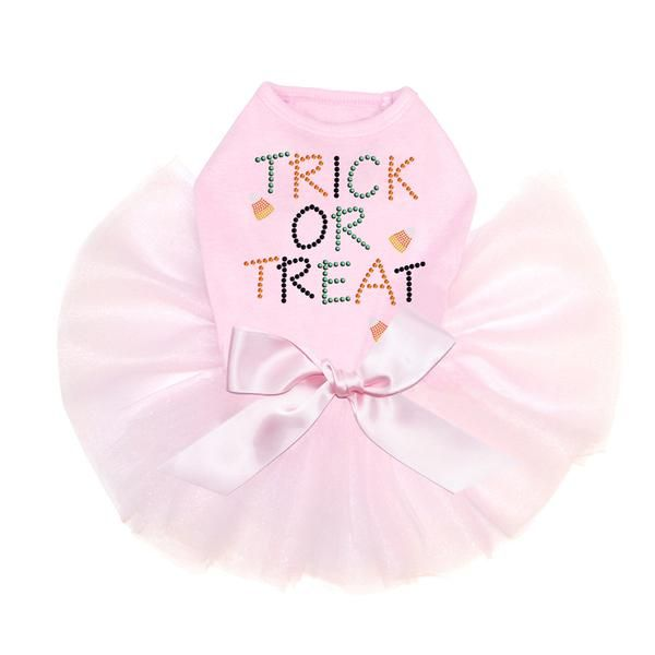 Trick Or Treat Candy Corn Tutu Dog Dress – Bark Label