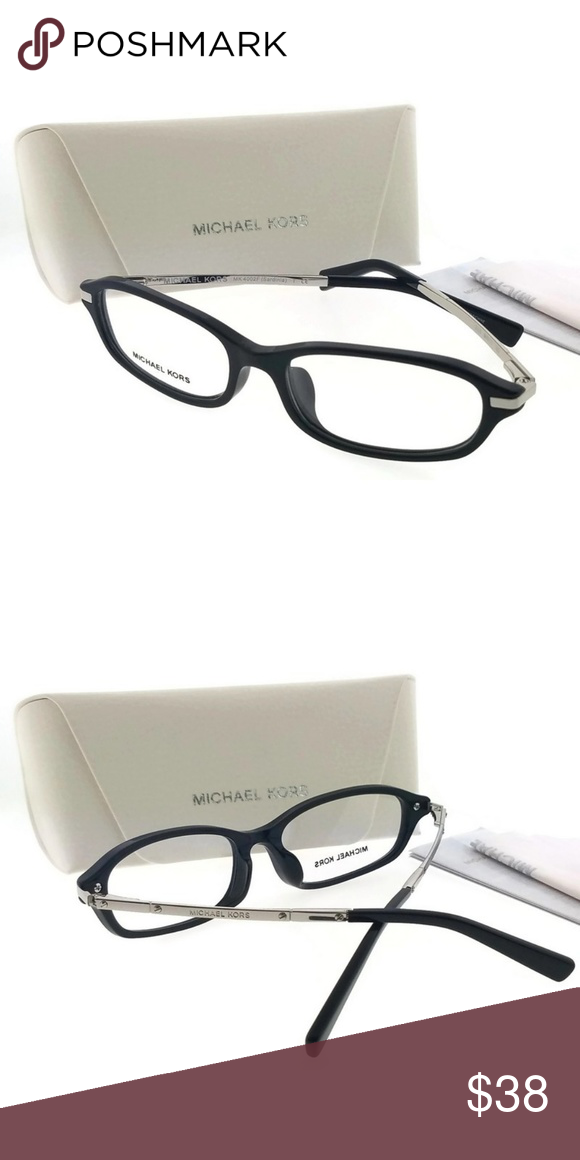 eab849ecaa31 MK4002F-3005-54 Women's Black Frame Eyeglasses New gorgeous authentic Michael  kors MK4002F-