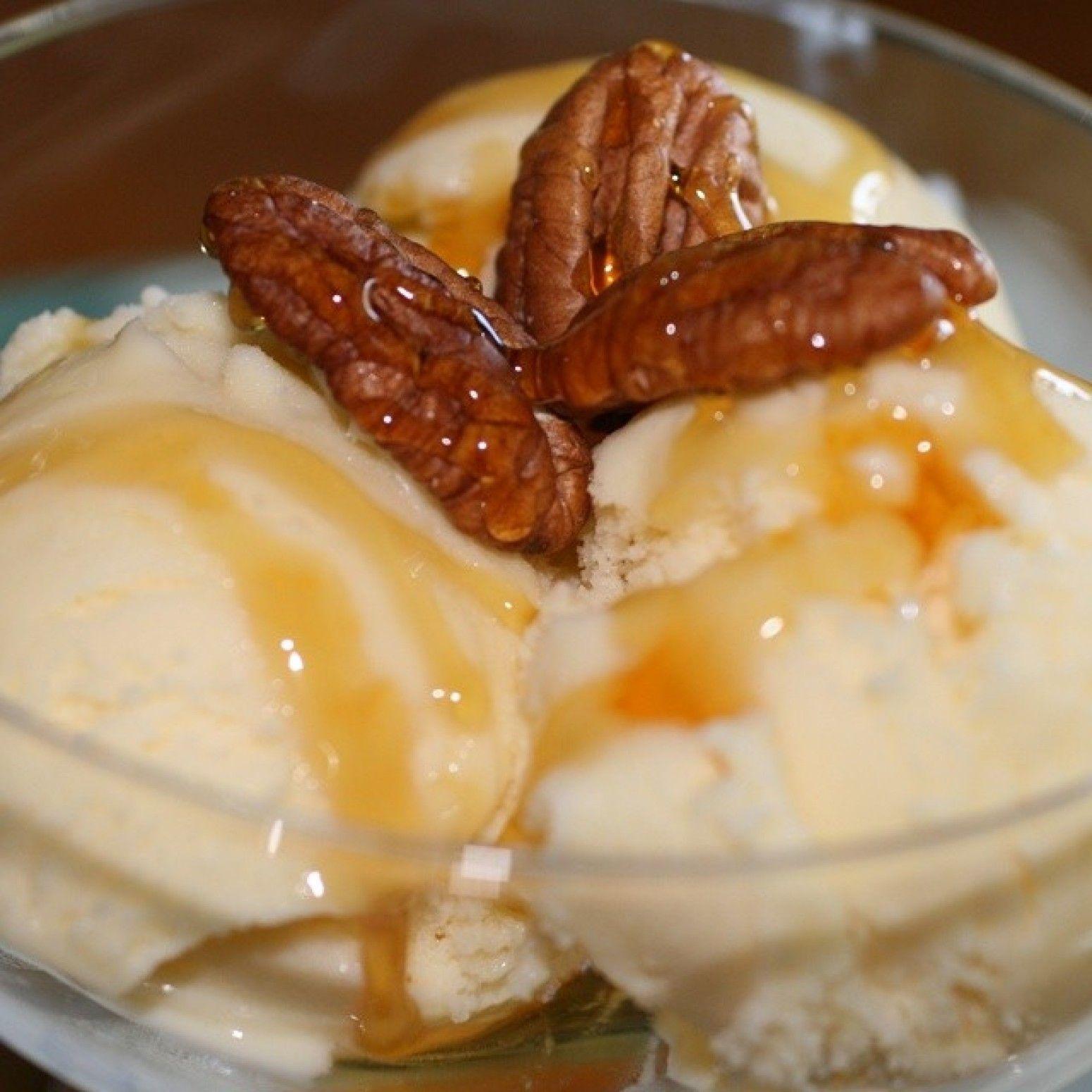 Sweet Potato Pie Ice Cream, Iris
