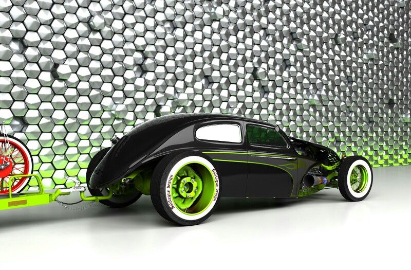 Radical VW with V8 in front