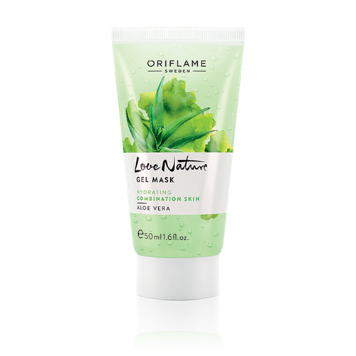 Cooling And Transparent Gel Mask Formulated With Hydrating Aloe Vera Extract To Moisturise The Skin Leaving I Gel Mask Aloe Vera Aloe Vera Gel Drink