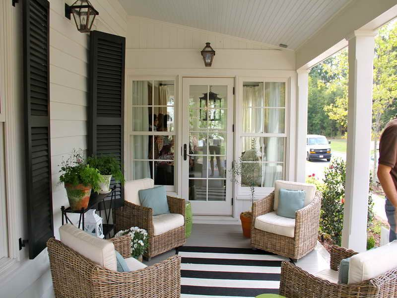 Painted Floor   Striped Rug Back Patio Ideas Pinterest Color