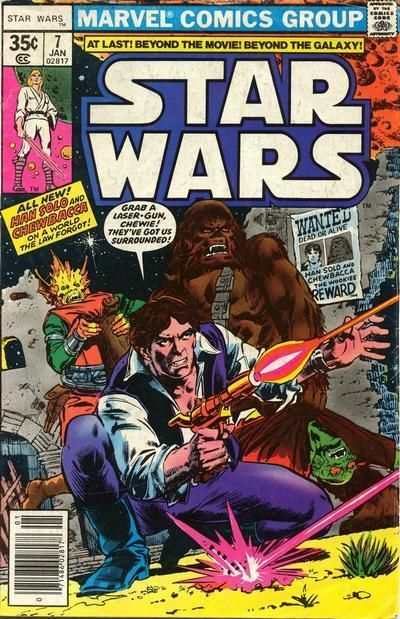 Star Wars #7 - Comic Book Cover